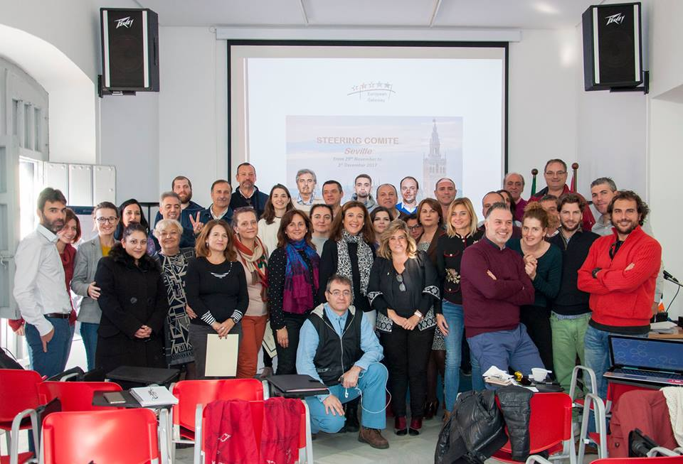 """THE EUROPEAN GATEWAY"" – 4th Transnational meeting in Sevilla"