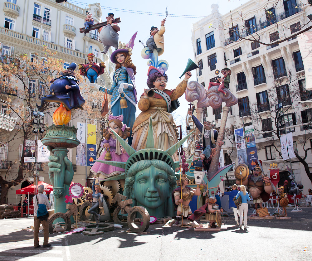 Monuments of Fallas