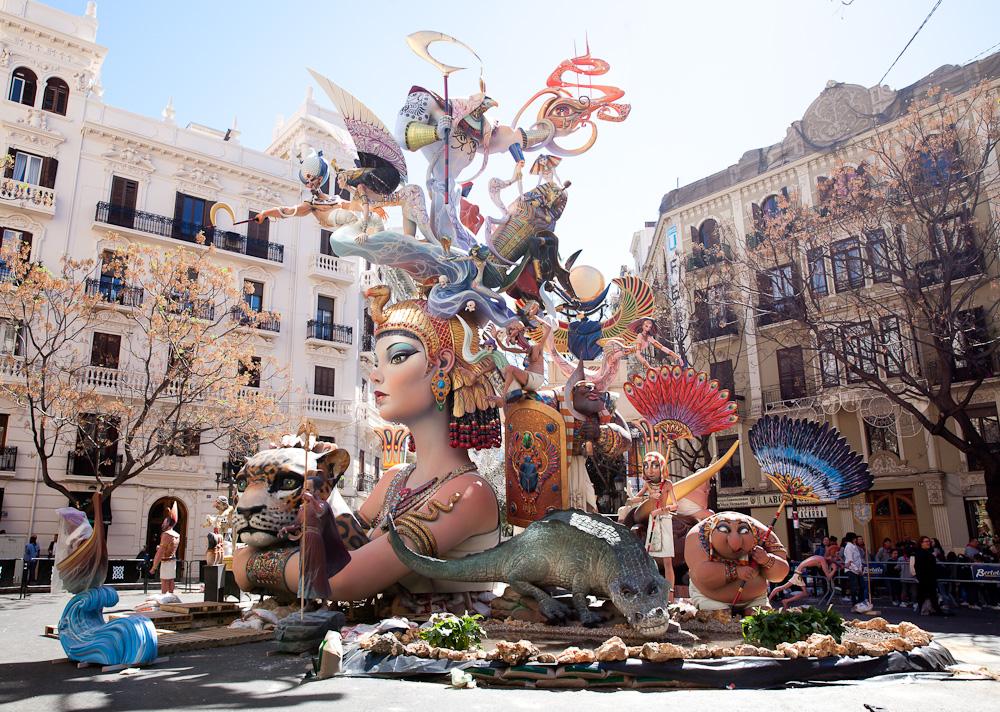Valencia in Fallas