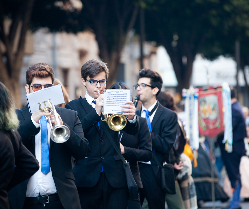 The music: an important part of Fallas