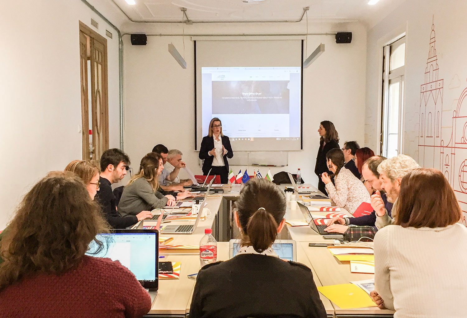 The European Gateway partners participated in the 7th Transnational meeting during Las Fallas festivity