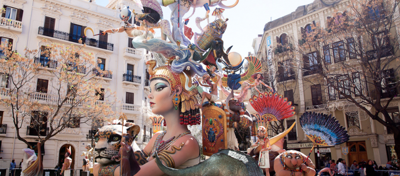 Valencia in Fallas