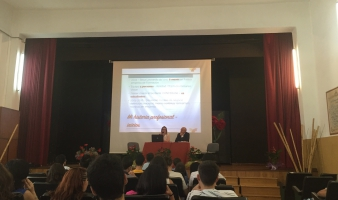 Esmovia invited to talk about entreprenership and gender equality