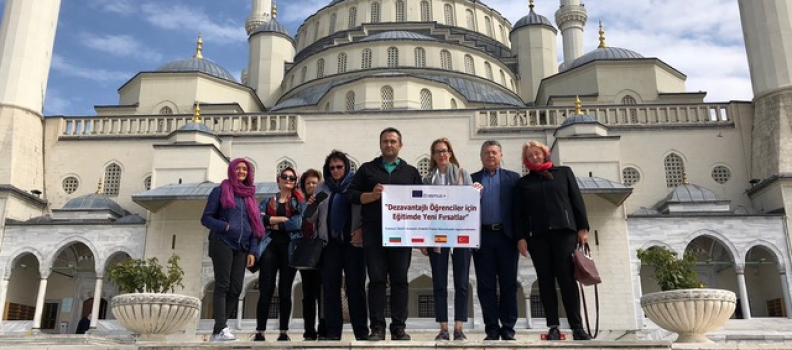 "Visiting Ankara for KA2 Erasmus project ""OPEN – Opportunities in the Puzzle of Ethnic Needs"""