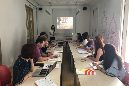 """""""WE WELCOME WORK"""" – 2nd Transnational Meeting in Valencia"""