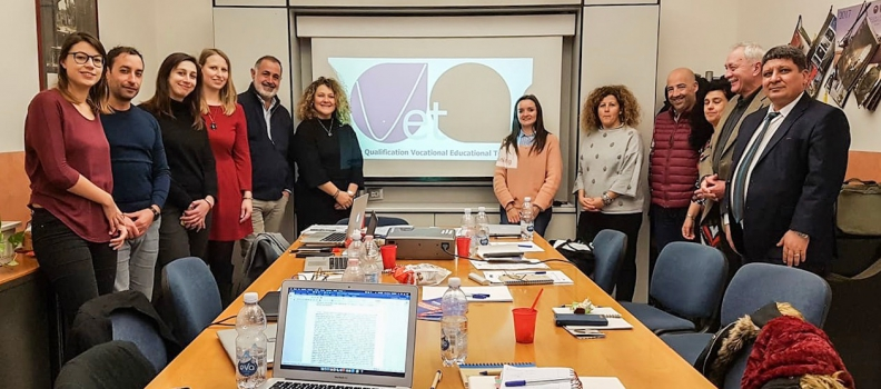 Partners meet in Bologna for the 3rd Transnational Meeting of the project  Quality Qualification for VET – QQVET