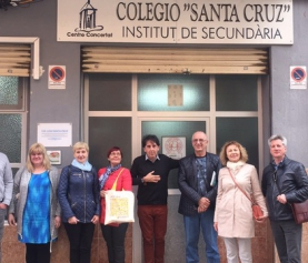 FROM LITHUANIA TO SPAIN TO PROMOTE INTERCULTURALITY AT THE SCHOOL