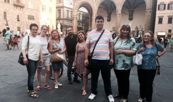 "Third meeting of Erasmus+ KA2 geea ""gender equality entrepreneurship for all"" in Florence"
