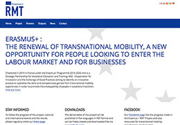 RMT Erasmus+: the renewal of transnational mobility, a new opportunity for people looking to enter the labour market and for businesses