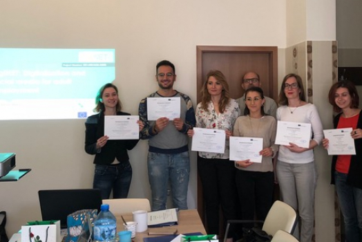 """""""DigiNet"""" – 2nd Transnational Meeting in Sofia."""